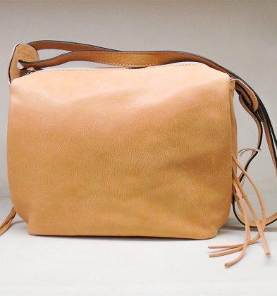 Calf Leather Handbag Street Style MF3