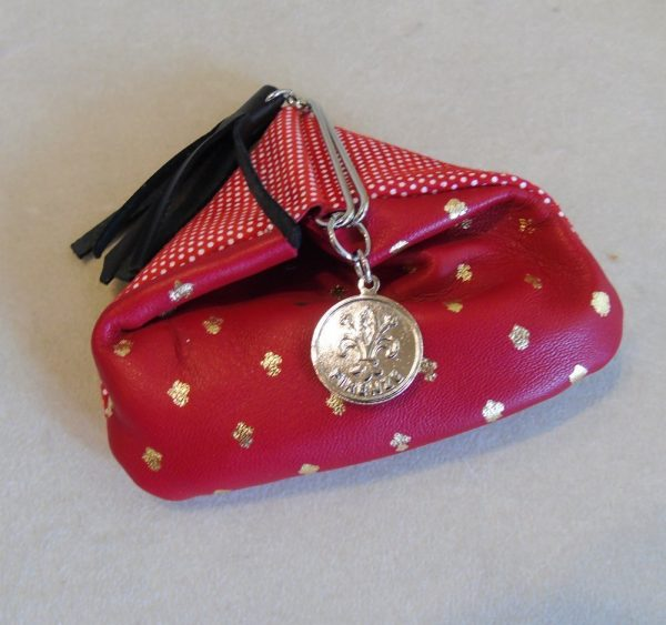 Calf Leather Coin Purse for her MFW3
