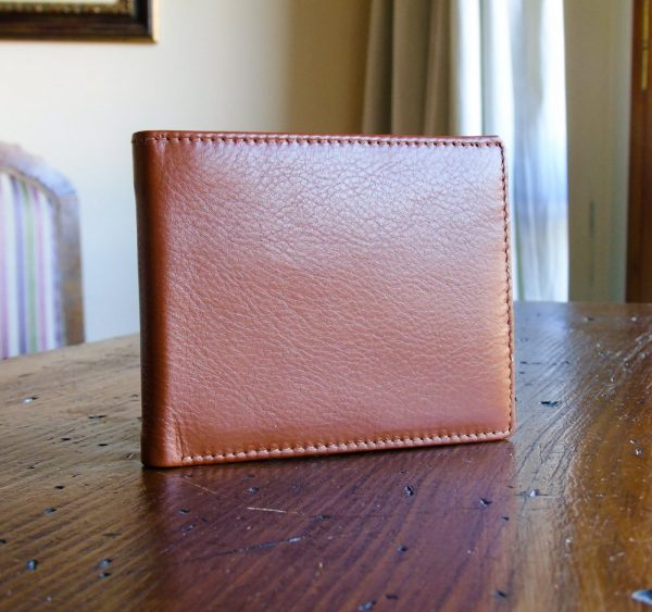 Calf Leather Wallet for Him MFW5