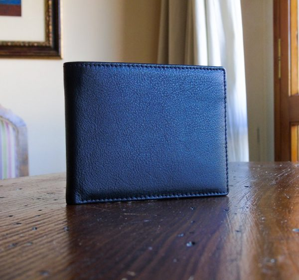Calf Leather Wallet for Him MFW7