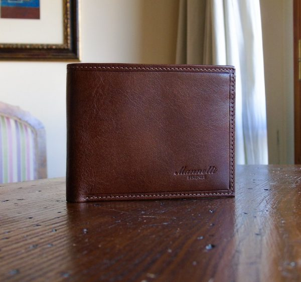 Calf Leather Wallet for Him MFW8