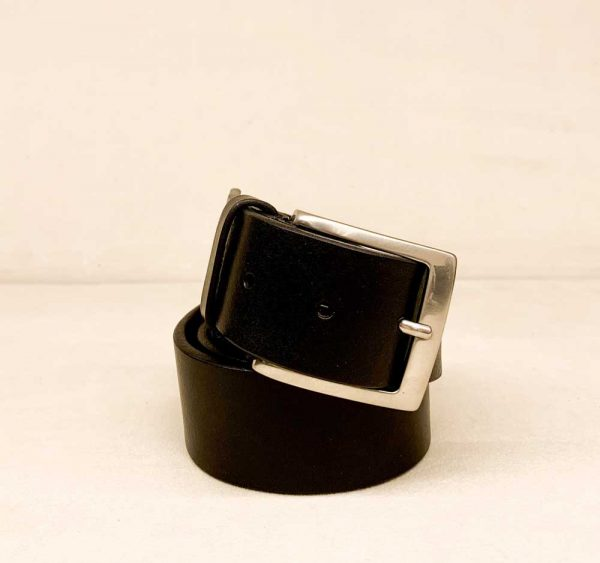 Genuine Calf Leather Belt Color black